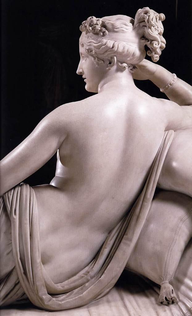 Paolina Borghese ritratta come Venere Vincitrice